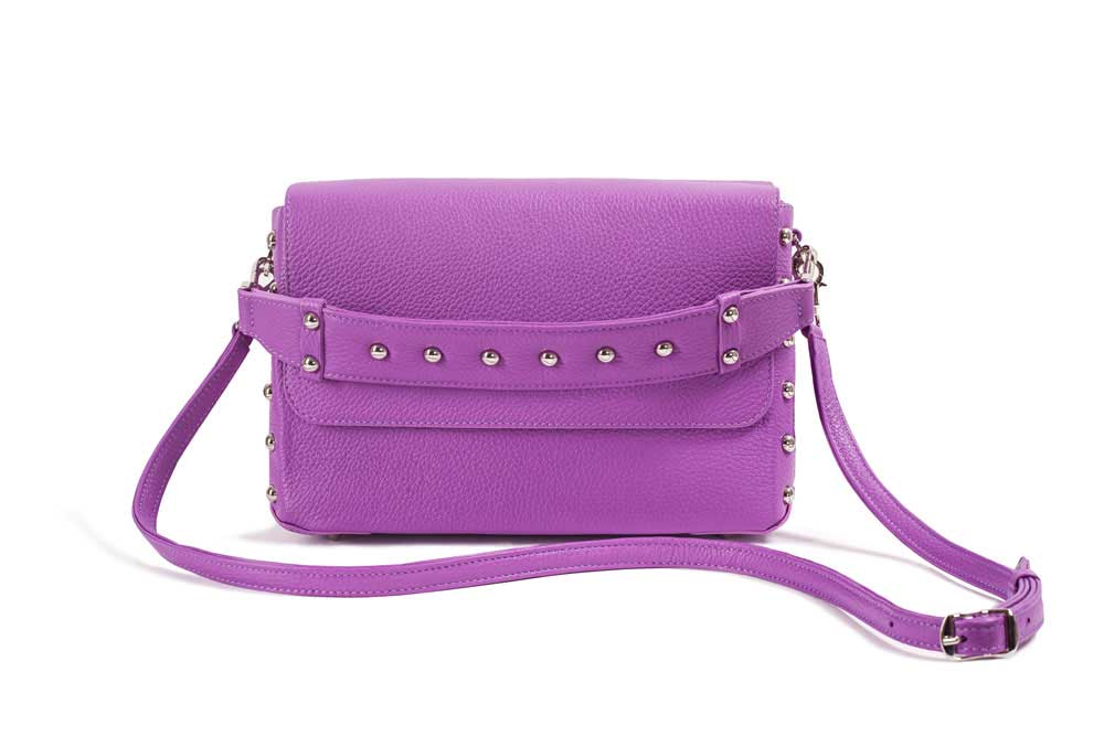 CUBE ROCK Bag Purple Front