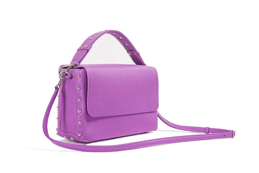 CUBE ROCK Bag Purple Side