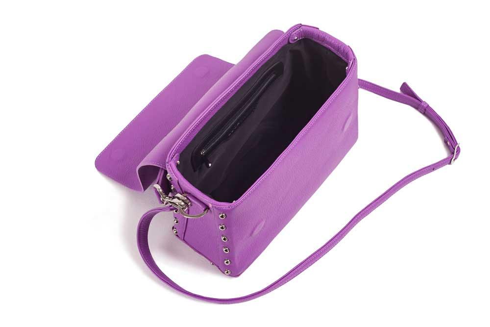 CUBE ROCK Bag Purple Top