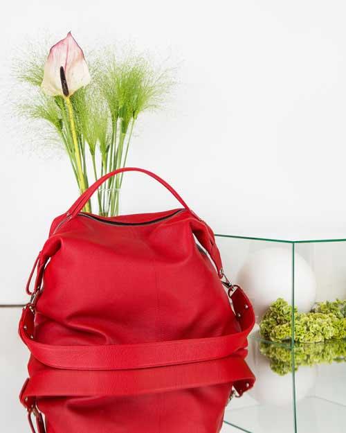 BAGGU-BAG-red-&-flower