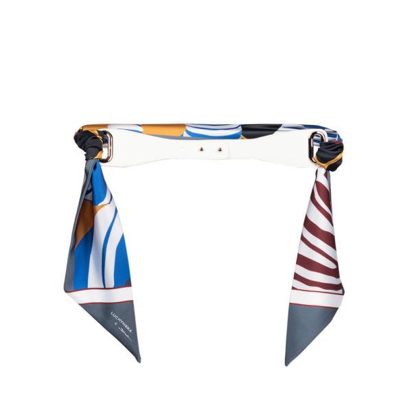 WaistBeltWhiteScarf