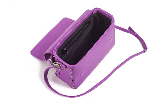 CUBE ROCK Bag Purple Top
