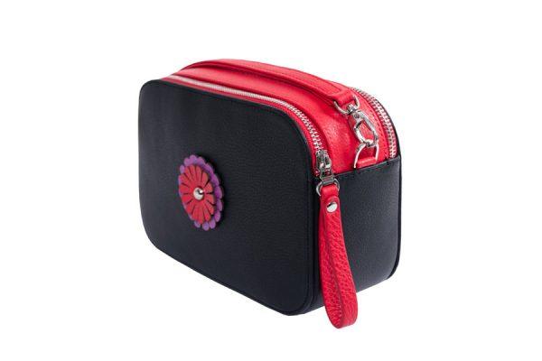 kohana bag black red small