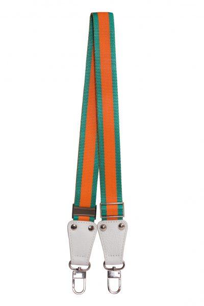 white_orange-green stripe