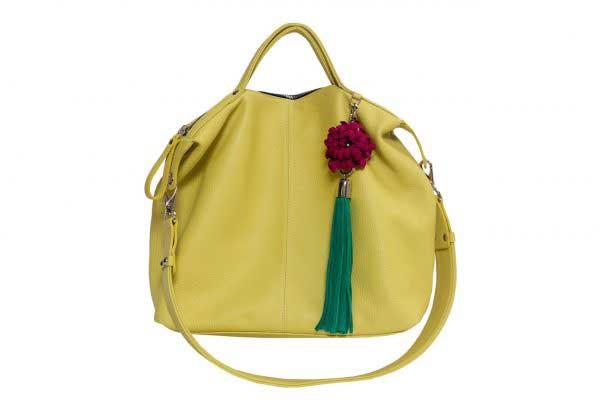 Baggu-Flowers-Citron